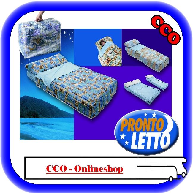 Sistema biancheria da letto per campeggio prontoletto 4 pz - Pronto letto camper ...