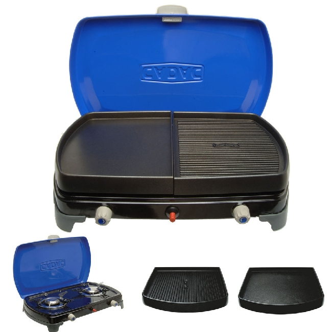 camping cadac gaskocher gasherd gasgrill 2 cook deluxe 50 mbar ebay. Black Bedroom Furniture Sets. Home Design Ideas