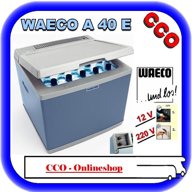 camping absorber k hlbox waeco mobicool 12 220v a40e ebay. Black Bedroom Furniture Sets. Home Design Ideas