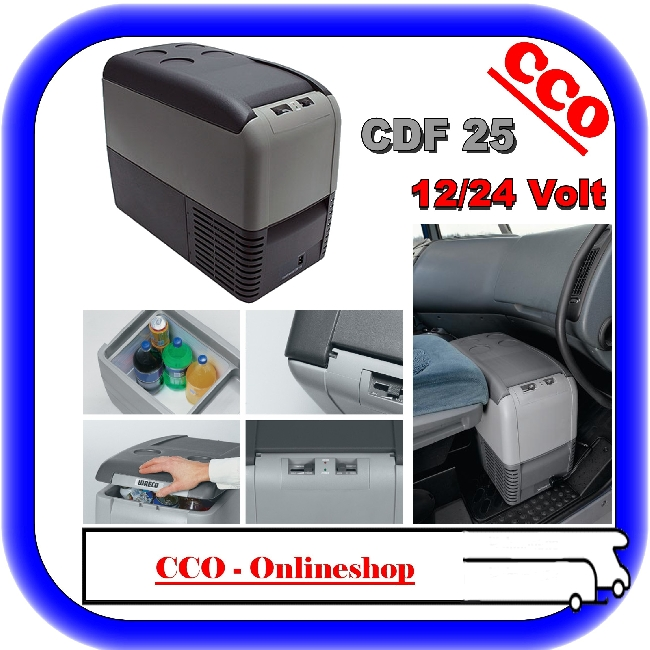 camping waeco kompressor k hlbox coolfreeze cdf 25 ebay. Black Bedroom Furniture Sets. Home Design Ideas