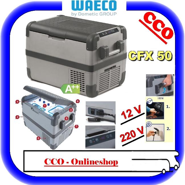 camping waeco k hlbox coolfreeze cfx 50 kompressor. Black Bedroom Furniture Sets. Home Design Ideas