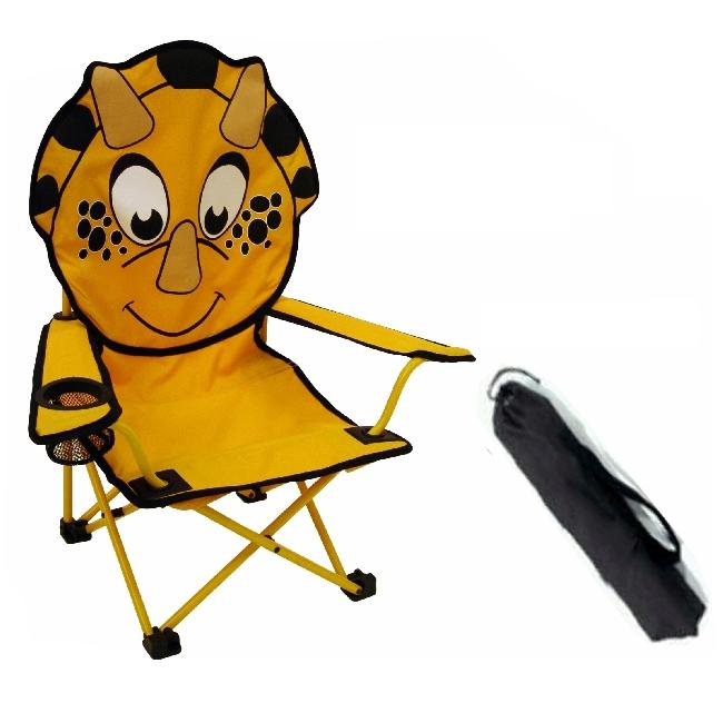 camping bel sol faltstuhl kinderstuhl campingstuhl dino. Black Bedroom Furniture Sets. Home Design Ideas