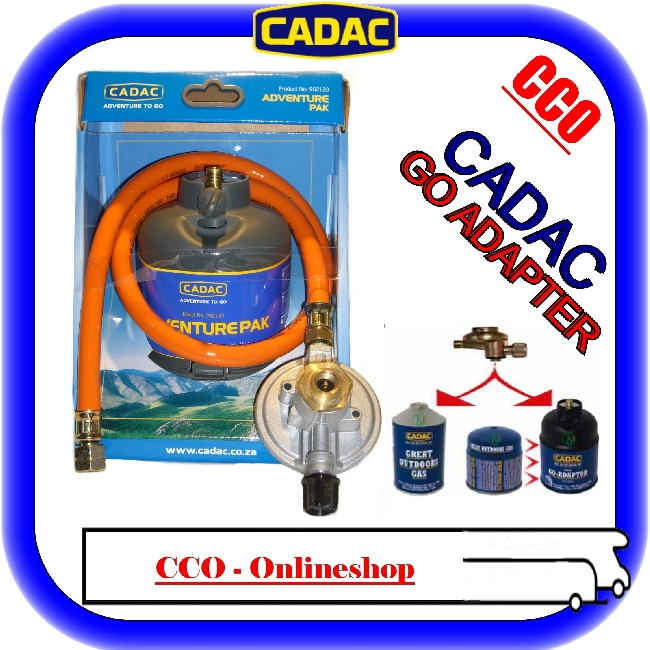 camping cadac gasgrill kocher go adapter set 30 mbar ebay. Black Bedroom Furniture Sets. Home Design Ideas