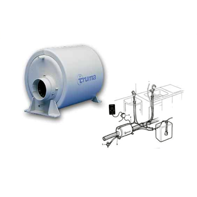 camping caravan warmwasserboiler boiler truma therme tt2. Black Bedroom Furniture Sets. Home Design Ideas