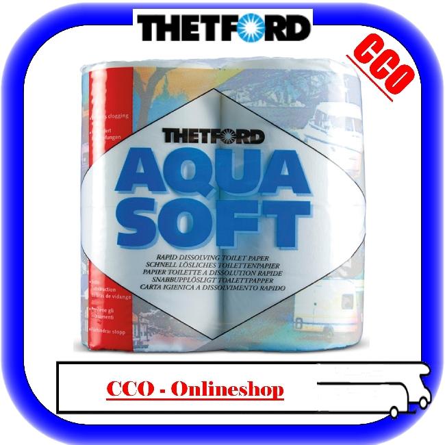 camping toilettenpapier wc papier thetford aqua soft ebay. Black Bedroom Furniture Sets. Home Design Ideas